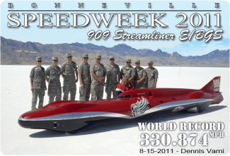 Bonneville Speed Week 2011