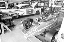 Note the DeSoto, the Cammer, and Lil' John Buttera's Indycar.