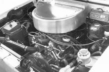 The reason behind its sneaky speed is 317 cubic inches of modern SVO power. Why such an odd displacement? The engines in these re-creations must be the same size as their forbearers, and the '54-'55 Y-block Lincoln V8s displaced 317 cubes. However, Ford's first OHV V8 didn't have highly modified Dart heads, a 650-cfm Holley double-pumper, and an MSD ignition, nor did it torque into a Hurst-shifted, four-speed Top Loader.